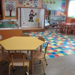 Aula de infantil del Colegio Sagrada Familia de Tarazona
