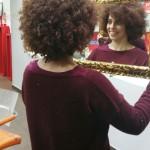 Peinado afro en Peluquería Eclipse en Tarazona