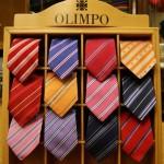 Corbatas Olimpo en Sastrería Caminero de Valdepeñas